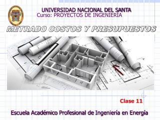 Curso: PROYECTOS DE INGENIER�A