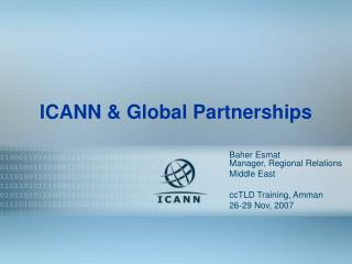 ICANN & Global Partnerships