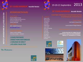19-20-21 Septembre      2013