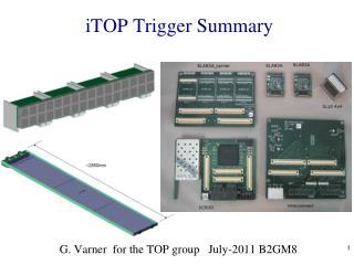 iTOP  Trigger Summary