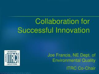 Collaboration for Successful Innovation