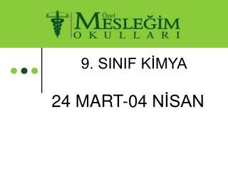 9. SINIF K?MYA