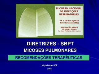MICOSES PULMONARES
