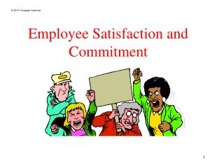 Employee Satisfaction and Commitment