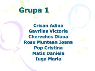 Grupa 1