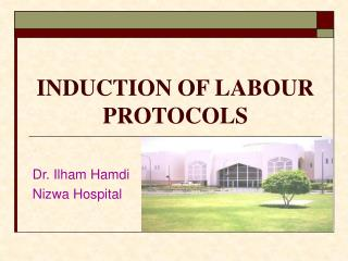INDUCTION OF LABOUR PROTOCOLS