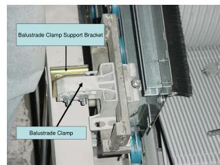 Balustrade Clamp Support Bracket