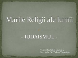 Marile Religii ale lumii