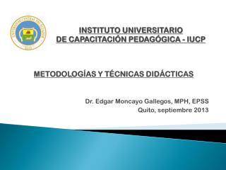 INSTITUTO UNIVERSITARIO  DE CAPACITACIÓN PEDAGÓGICA - IUCP