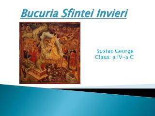 Bucuria Sfintei Invieri
