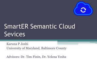 SmartER  Semantic Cloud  Sevices