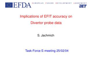 Implications of EFIT accuracy on Divertor probe data