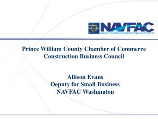 Prince William County Chamber of Commerce  Construction Business Council