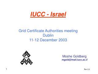IUCC - Israel