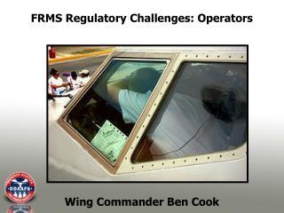 Wing Commander Ben Cook