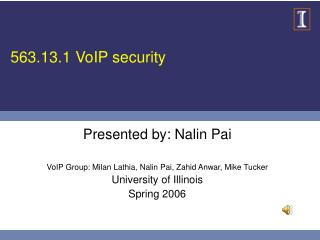 563.13.1 VoIP security