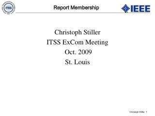 Report Membership