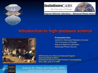 Introduction to high-pressure science