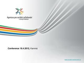 Conference 18.4.2012,  Karviná