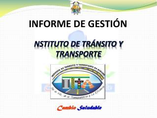 NSTITUTO DE TRÁNSITO Y TRANSPORTE