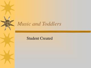 Music and Toddlers