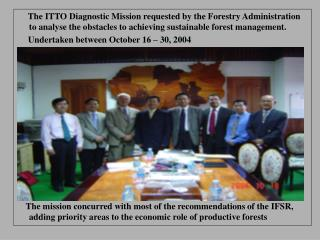 Objectives of ITTO Mission to Cambodia