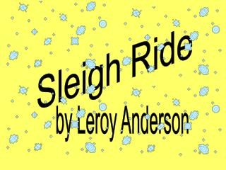By Leroy Anderson