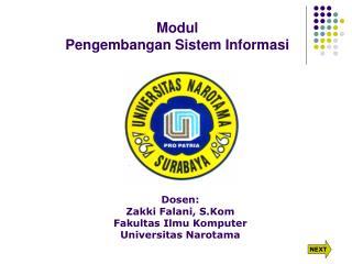 Modul Pengembangan Sistem Informasi