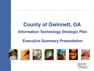 Information Technology Strategic Plan Executive Summary Presentation