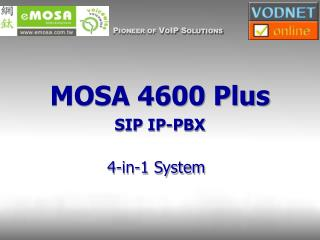 MOSA 4600 Plus SIP IP-PBX