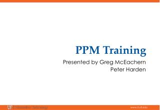 PPM  Training