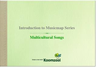 Introduction to Musicmap Series Multicultural Songs