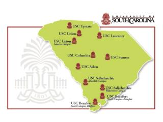 The University  of South Carolina