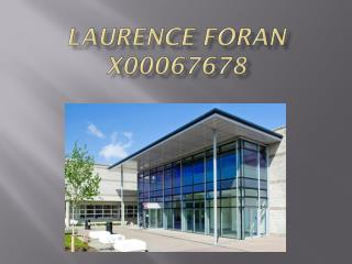 Laurence Foran X00067678