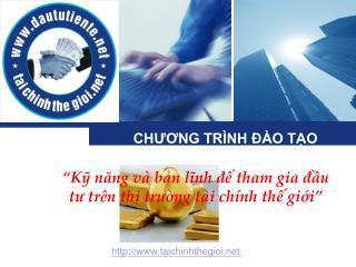 CH??NG TR�NH ?�O T?O