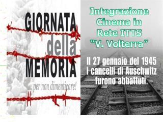 """Integrazione Cinema in Rete ITTS """"V. Volterra"""""""