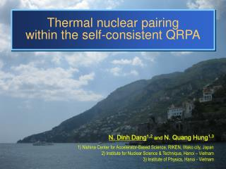 Thermal nuclear pairing  within the self-consistent QRPA