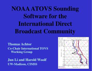 NOAA ATOVS Sounding Software for the International Direct Broadcast Community