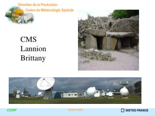 CMS Lannion Brittany