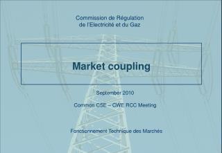 Market coupling