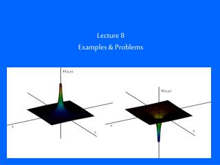 Lecture 8 Examples & Problems