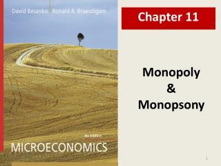 Monopoly & Monopsony