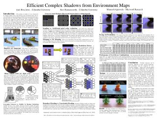 Efficient Complex Shadows from Environment Maps