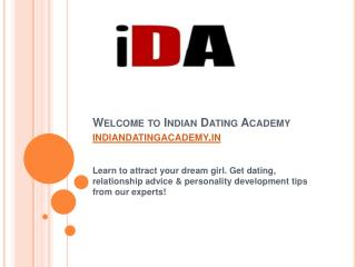 Indian Dating Academy