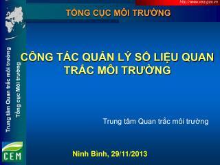 Ninh Bình, 29/11/2013