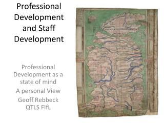 Professional Development and Staff Development