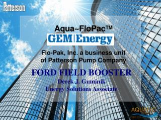Flo-Pak, Inc. a business unit of Patterson Pump Company