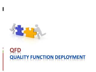 QFD Quality Function Deployment