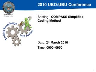 Briefing:  COMPASS Simplified Coding Method