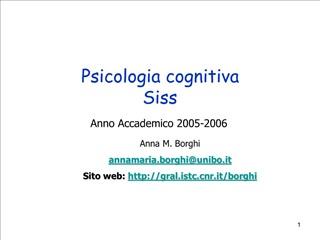 Psicologia cognitiva Siss